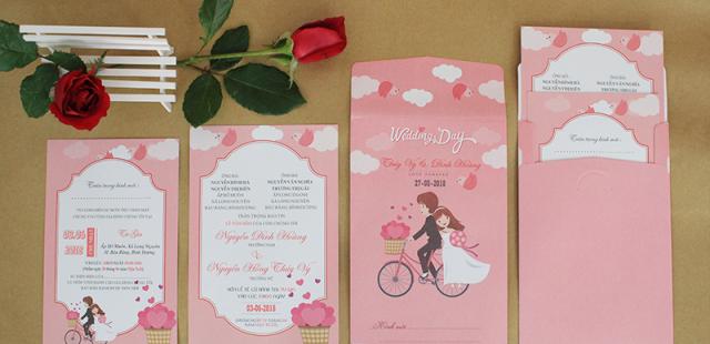 Thiết kế, in ấn thiệp cưới đẹp giá rẻ tại Tphcm