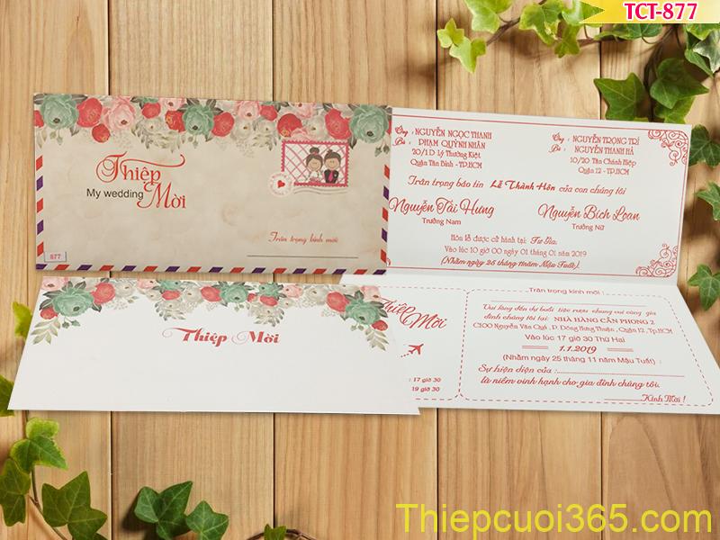 In thiệp cưới giá rẻ nhanh cấp tốc tại Tphcm