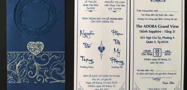 100 mẫu thiệp cưới màu xanh dương từ 2500đ – Thiệp cưới 2k, 3k, 4k